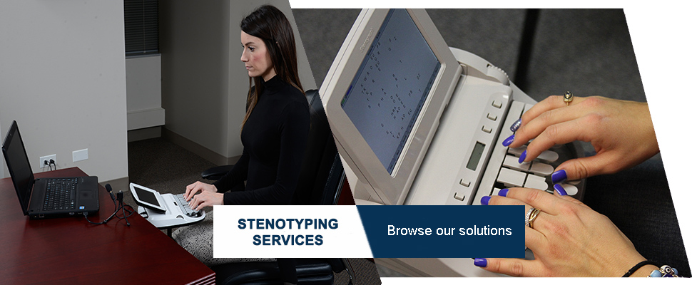 Stenotyping Services